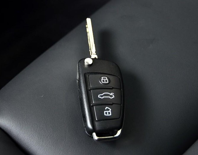 奥迪车钥匙 济南配车钥匙